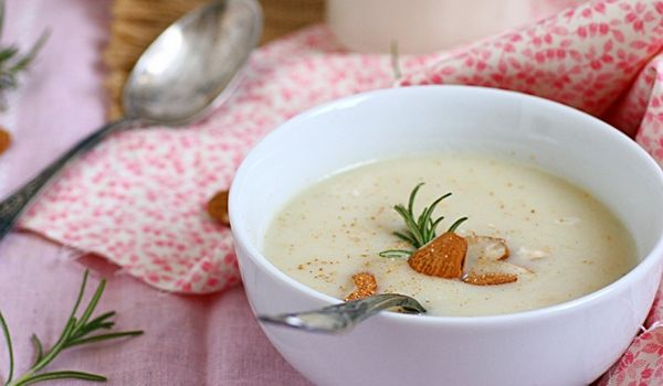 Almond And Celery Soup Recipe