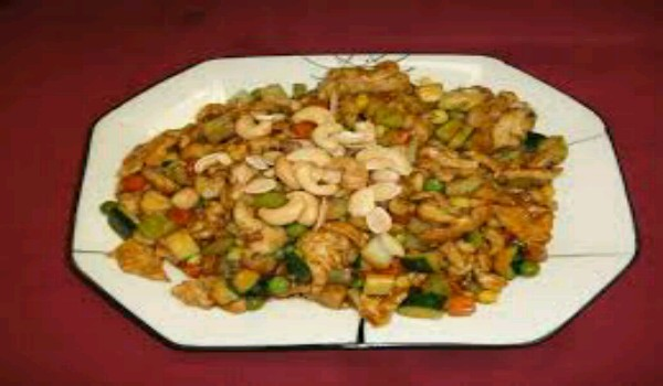 Almond Cashew Chicken Recipe