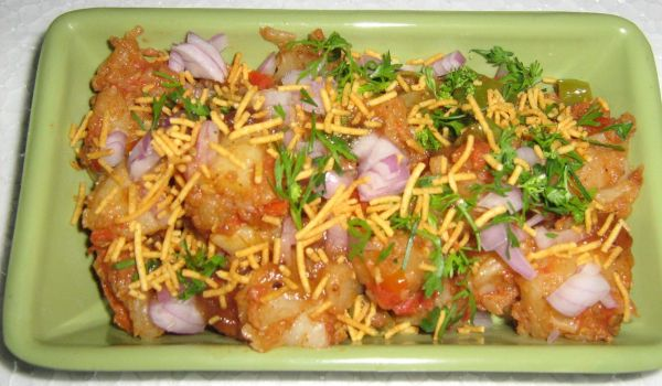 Aloo Anardana Chaat Recipe