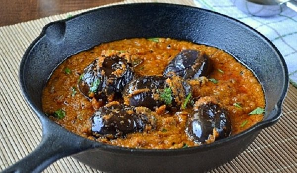 Andhra Brinjal Curry Recipe