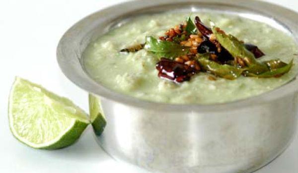 Andhra Coconut Chutney Recipe