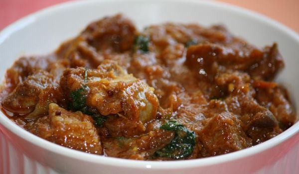 Andhra Mushroom Curry Recipe