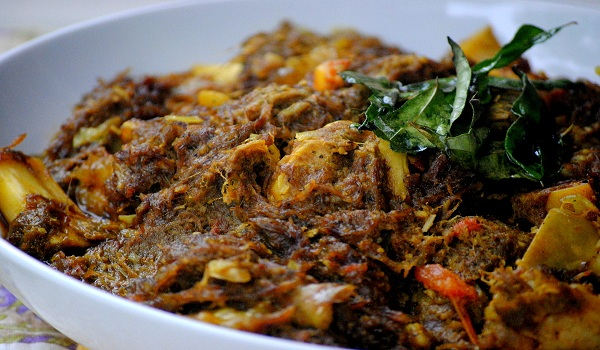 Andhra Mutton Fry