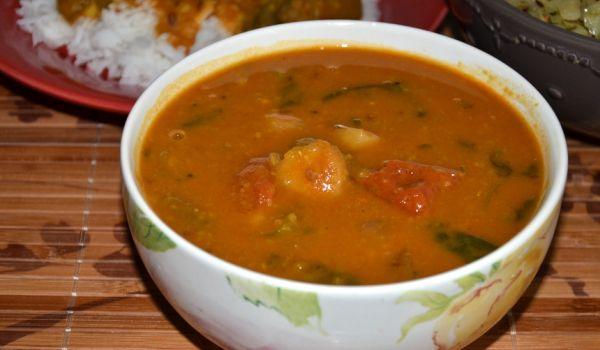 andhra sambar Recipe