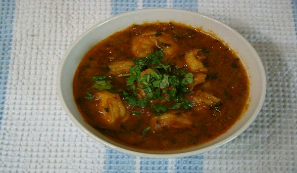 Andhra Shrimp Curry