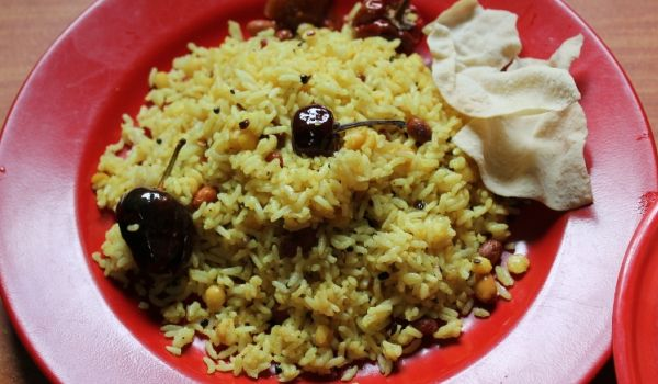 Andhra Tamarind Rice Recipe