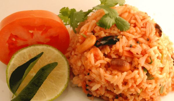 Andhra tomato Rice Recipe