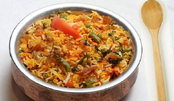 Andhra Vegetable Biryani