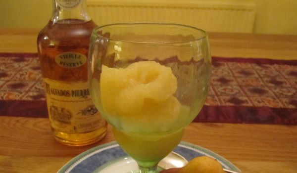 Apple and Calvados Sorbet