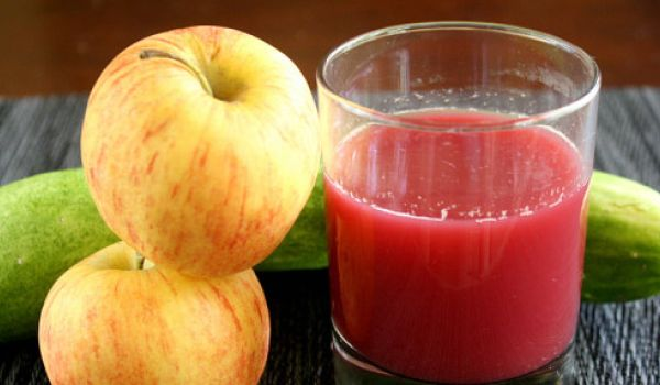 Apple, Beet And Cucumber Juice