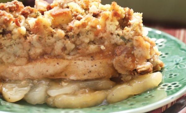 Apple Pork Chop Casserole