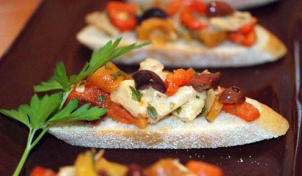 Artichoke, Cheese and Olive Antipasto Recipe
