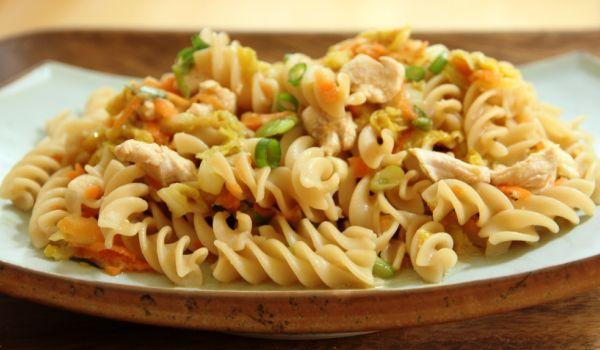 Asian-Style Pasta Salad