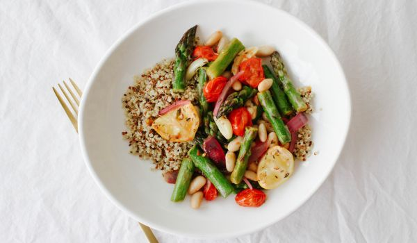 Asparagus and Tomato Skillet Recipe