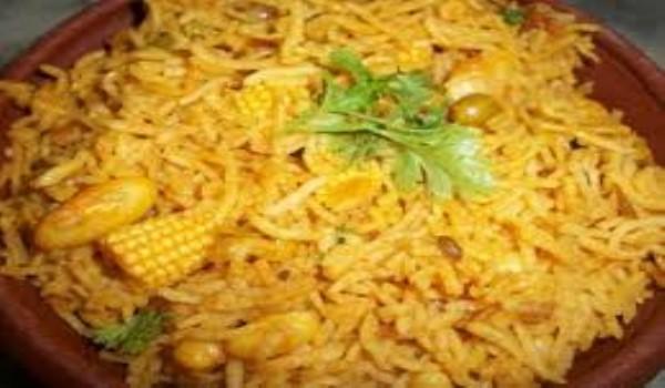 Baby Corn Rice Recipe