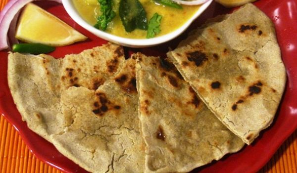 Bajra Aloo Roti