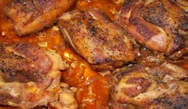 Baked Chicken Paprika