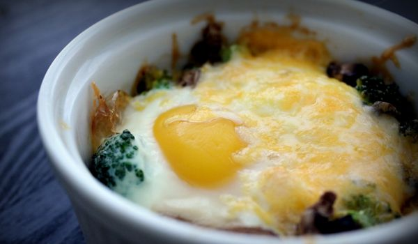 Baked Egg Cheese