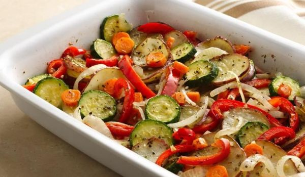 Baked Vegetable