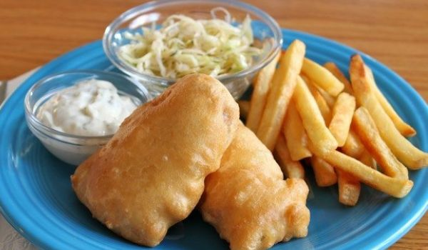 Batter Fried Fish  Recipe