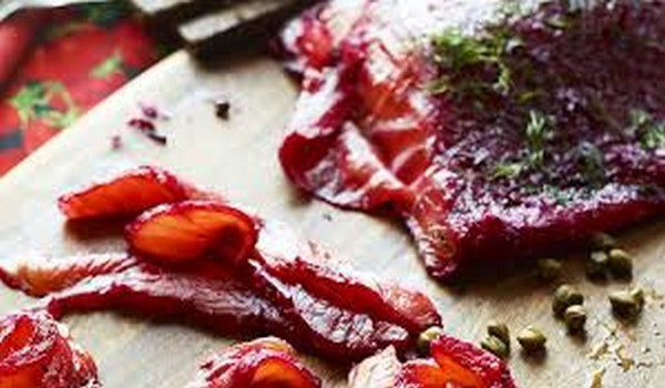 Beetroot Gravadlax Recipe