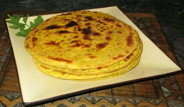 Besan Paratha Recipe