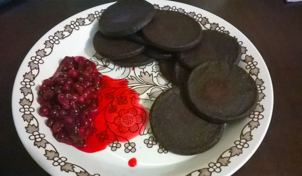 Blood Pancakes Recipe