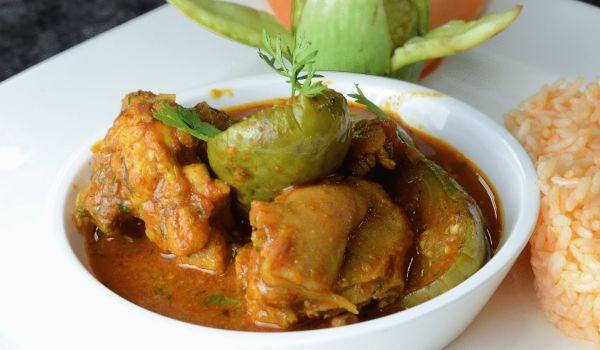 Brinjal Chicken