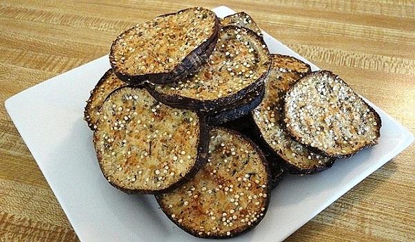 Brinjal Chips