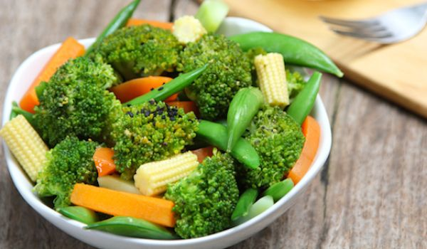 Broccoli and Baby Corn Vegetable