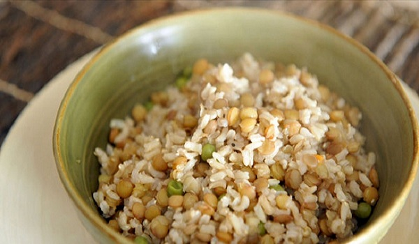Brown Lentils & Rice