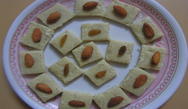 Burfi Rawa Sheera Recipe