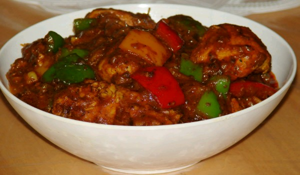 Capsicum Chicken