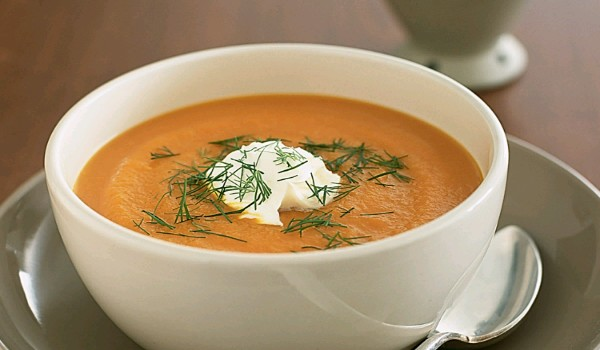 Carrot Cheese Soup Recipe