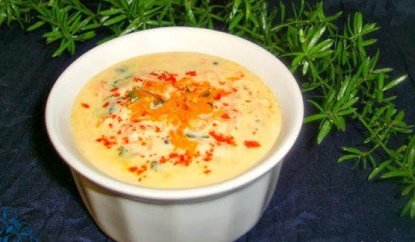 Carrot Thayir pachadi