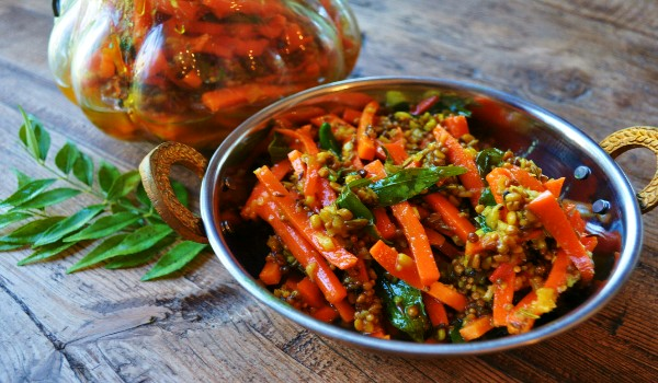 Carrots & Chilies Pickle