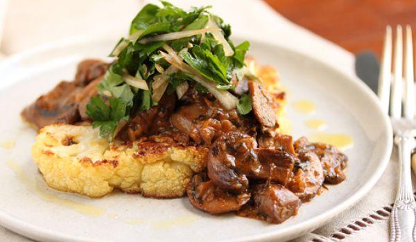 Cauliflower & Mushroom Mix Recipe