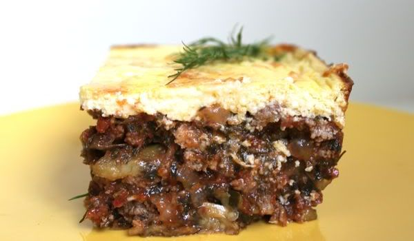 Cauliflower Moussaka