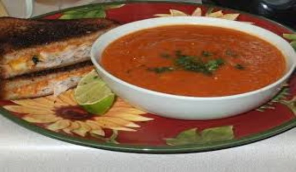 Cauliflower Tomato Soup Recipe