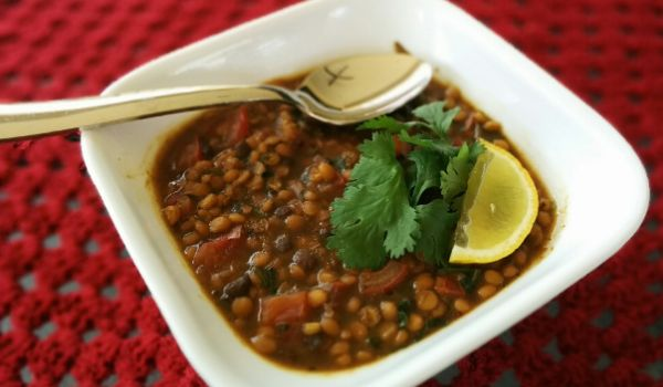 Chana Ni Dal Ma Murgi Recipe