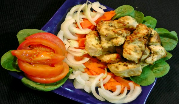 Cheese Chicken Kebab Recipe