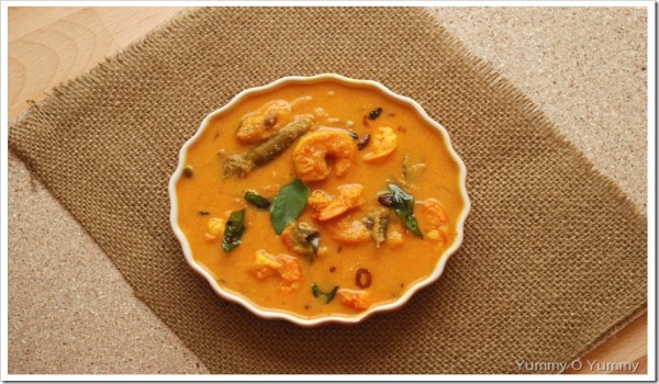 Chemmeen Mango Curry Recipe