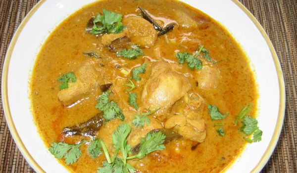 Chettinad Chicken Sambar Recipe