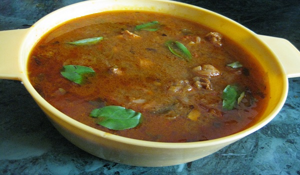Chettinad Chicken Soup