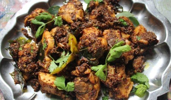Chettinad Chicken Varuval Recipe