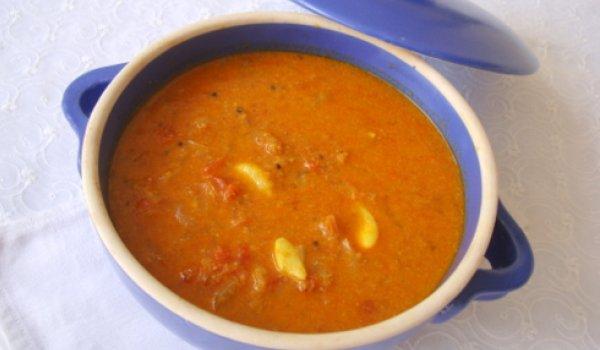 Chettinad Tomato Kuzhambu