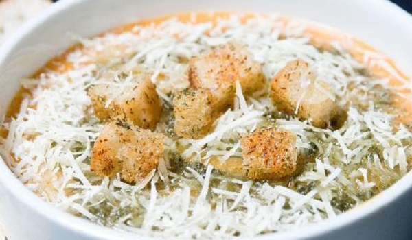 Chicken Balls In Cheese Soup