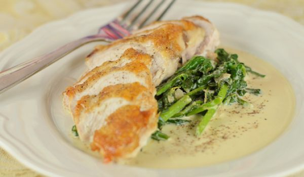 Chicken Breasts in Lemon Cream Sauce Recipe