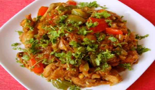 CHICKEN CAPSICUM RECIPE