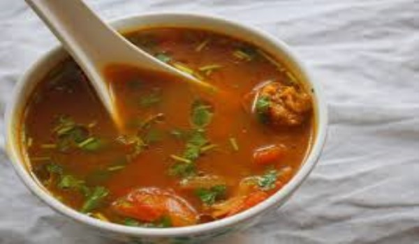 Chicken Coconut Rasam Recipe
